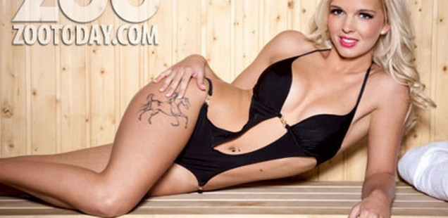 Leonna Mayor is the sexiest jockey for Zoo Magazine